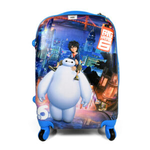 Big Hero Trolley Luggage Bag (Travel Bag) - Blue-0