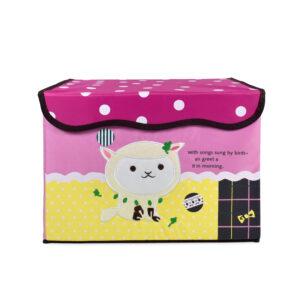 Multi Purpose Fold-able Storage Box - Pink-0