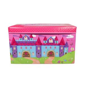 Multi Purposable Foldable Storage Box - Pink-0