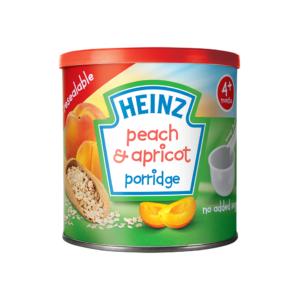 Heinz Peach & Apricot Porridge 240gm 4M+-0