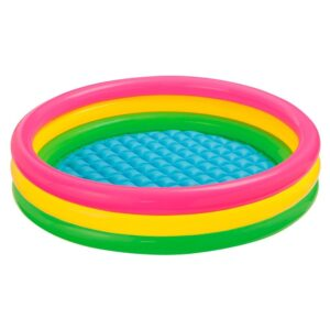 Intex Sunset Glow Inflatable Baby Pool (45 Inch) - Multi Color-0