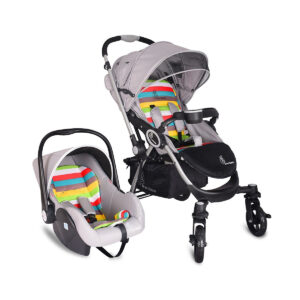 R for Rabbit Travel System - Chocolate Ride - Baby Stroller/Pram + Infant Car seat-0