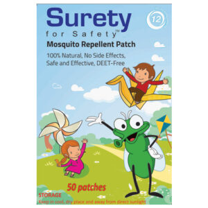 Surety For Safety Mosquito Repellent Patch - 50 Patches-0