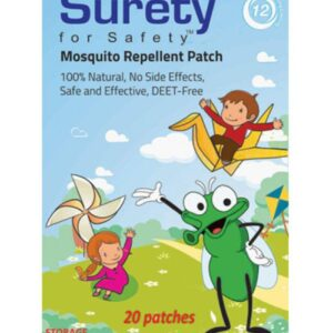 Surety For Safety Mosquito Repellent Patch - 20 Patches-0