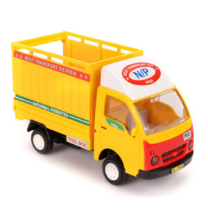 Centy Pull Back Tata Ace Freight Carrier Toy - Yellow-0