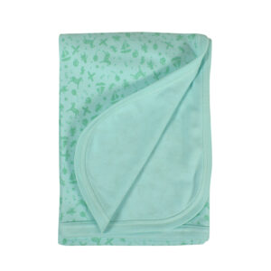 Baby Wraping Sheet Printed (Aqua) - 80x80-0