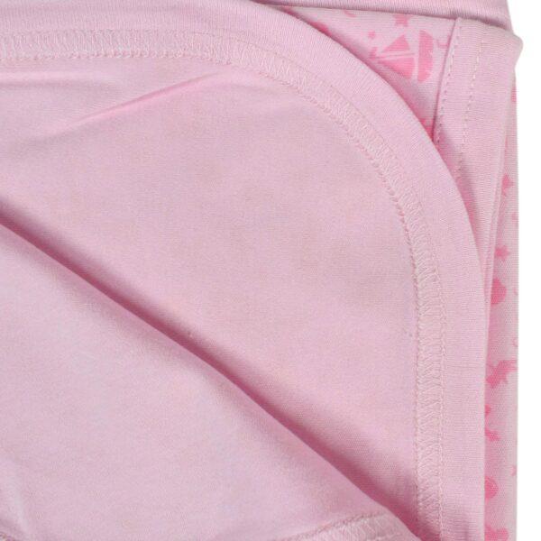 Baby Wraping Sheet Printed (Pink) - 80x80-8695
