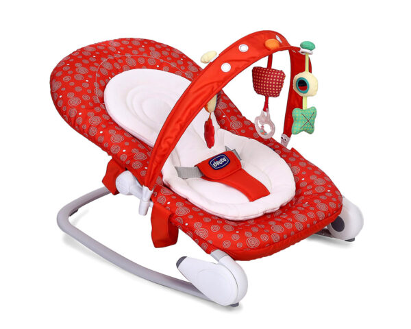 Chicco Hoopla Baby Bouncer Berry - Red-0
