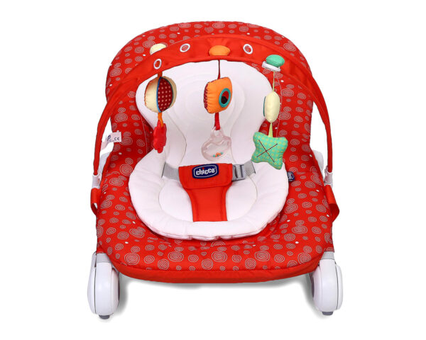 Chicco Hoopla Baby Bouncer Berry - Red-10977