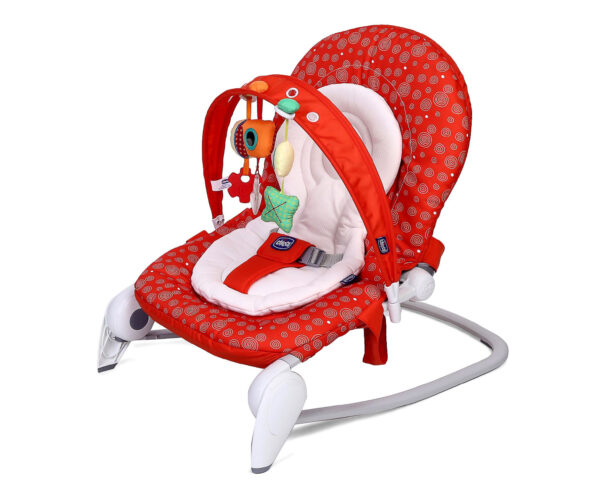 Chicco Hoopla Baby Bouncer Berry - Red-10972