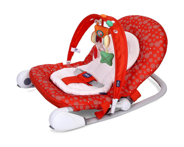 Chicco Hoopla Baby Bouncer Berry - Red-10974