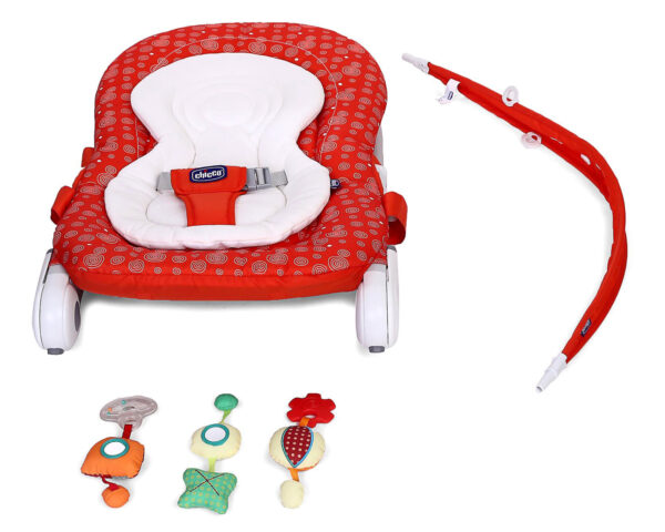 Chicco Hoopla Baby Bouncer Berry - Red-10975