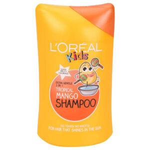 L'Oreal Kids Extra Gentle 2 in 1 Tropical Mango Shampoo - 250ml-0