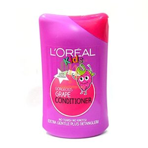 Loreal Kids Gorgeous Grape Conditiner With Super Fruity Fragrance - 250ml-0