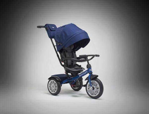 Bentley 6-in-1 Baby Stroller / Kids Trike (BN1F) - Sequin Blue-11377
