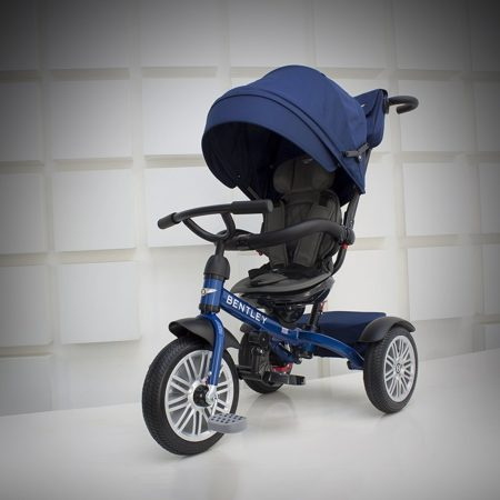 Bentley 6-in-1 Baby Stroller / Kids Trike (BN1F) - Sequin Blue-0