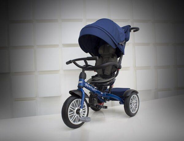 Bentley 6-in-1 Baby Stroller / Kids Trike (BN1F) - Sequin Blue-0