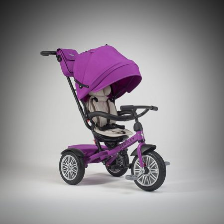 Bentley 6-in-1 Baby Stroller / Kids Trike (BN1F) - Fuchsia Pink-0