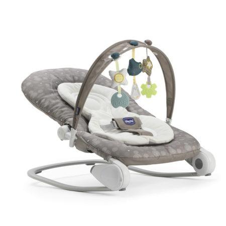Chicco Hoopla Baby Bouncer - Dark Beige-0