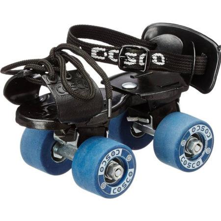 Cosco Tenacity Super Junior Quad Roller Skates - Size 8.5-11 UK (Blue, Black)-0
