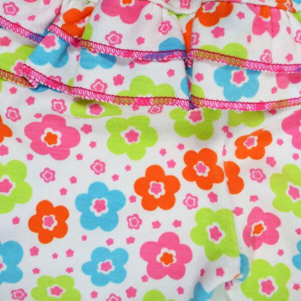 Carter Hosiery Cotton Legging (Pink/White) - Pack Of 2-10201