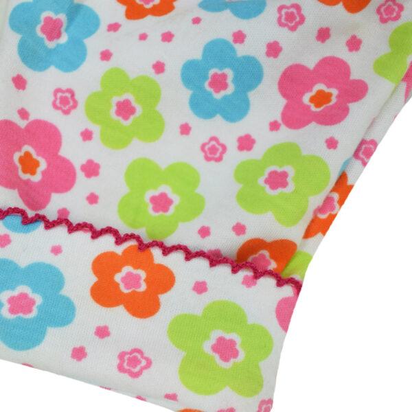 Carter Hosiery Cotton Legging (Pink/White) - Pack Of 2-10198