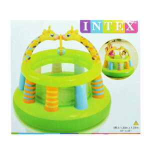 Intex Inflatable Baby Gym 51x41 - Green-0