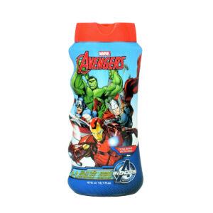 Avengers Extra Mild 2 In 1 Bubble Bath & Shampoo - 475 ml-0