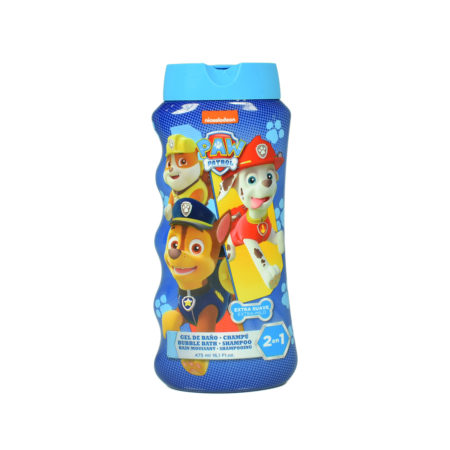 Paw Patrol Extra Mild 2 In 1 Bubble Bath & Shampoo - 475 ml-0