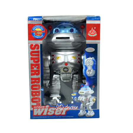 Space Wiser Infrared Ray IQ Doctor Super Robot Kids Toy-0