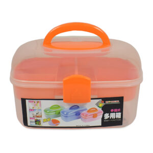 Multi Purpose Storage Box - Orange-0