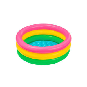 Intex Inflatable Baby Pool, Multi Color (2-feet)-0