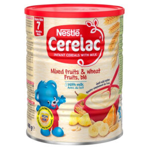 Nestle Cerelac Mixed Fruits & Wheat with Milk, Stage 3 (7M+) - 400g-0