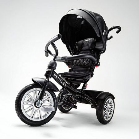 Bentley 6-in-1 Baby Stroller / Kids Trike (BN1F) - Onyx Black-0