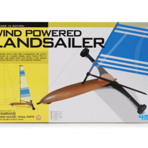 4M Science in Action Wind Powered Landsailer - Blue-0