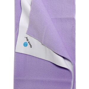Quick Dry Plain Waterproof Bed Protector Sheet (Double Bed) - Lilac-0