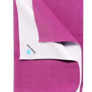 Quick Dry Plain Waterproof Bed Protector Sheet (M) - Orchid-0