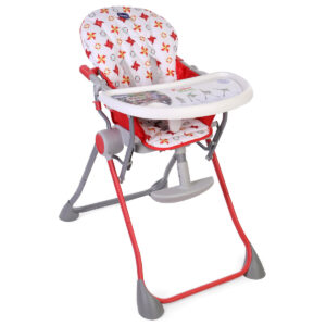 Chicco Pocket Meal High Chair - Red-0