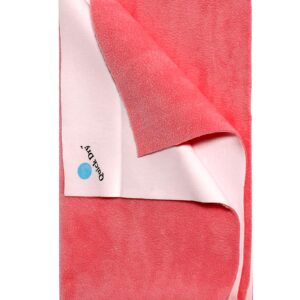 Quick Dry Plain Waterproof Bed Protector Sheet (L) - Rose-0