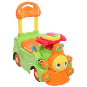 Chicco - Green and Orange New Loco Train Sit N Ride-0