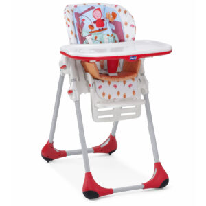 Chicco Polly Highchair 2 In 1 Happyland - Upto 14 Kg-0