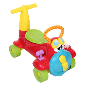 Chicco Charlie Sky Rider Manual Push Ride On - Multicolor-0