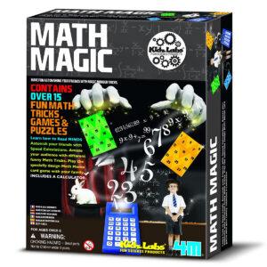 Kidz Lab 4 M Math Magic (Multi Color)-0