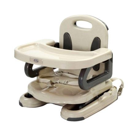 Mastela Height Adjustable Booster Seat 6M+ (DarkGray)-0
