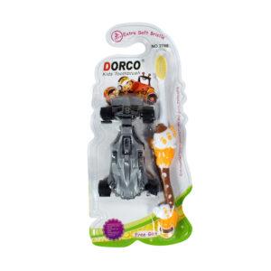 Dorco Extra Soft Bristle Kids Toothbrush - Orange-0