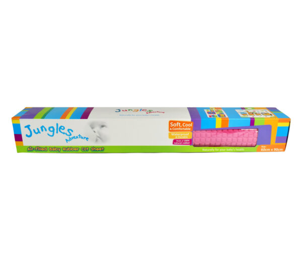 Jungle Air Filled Baby Rubber Cot Sheet - Multicolor-12206