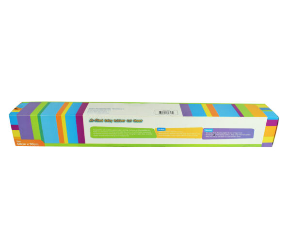 Jungle Air Filled Baby Rubber Cot Sheet - Multicolor-12202