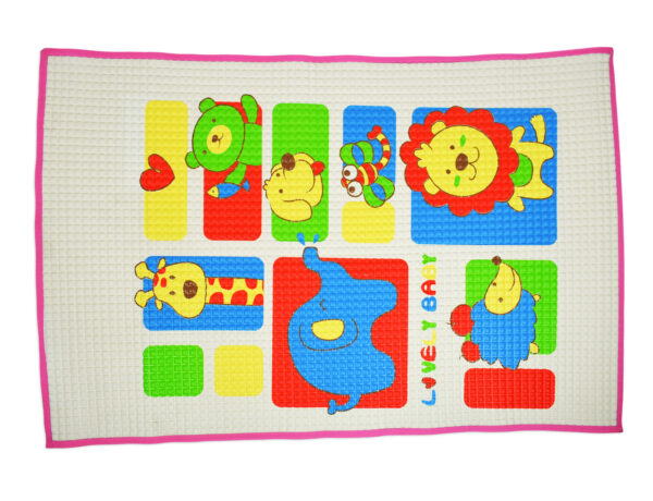 Jungle Air Filled Baby Rubber Cot Sheet - Multicolor-0