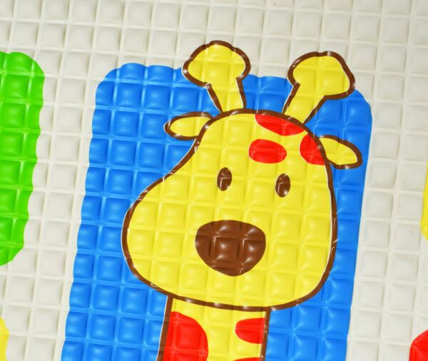 Jungle Air Filled Baby Rubber Cot Sheet - Multicolor-12203