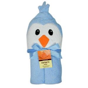 Carters Hooded Towel - Blue-0